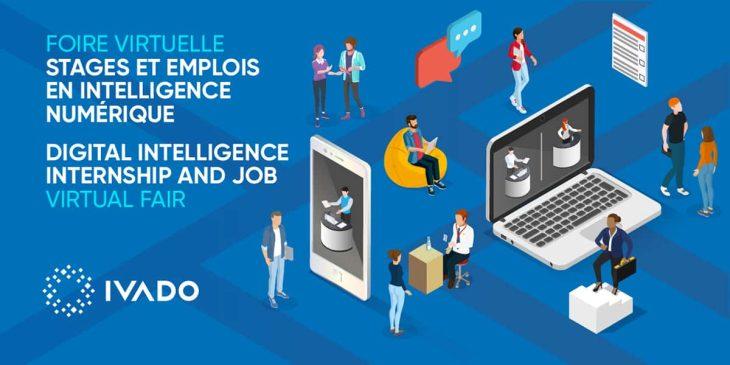 Foire aux stages et emplois IVADO en intelligence numérique