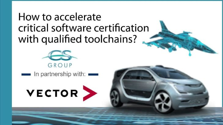 How to accelerate critical software certification with qualified toolchains?