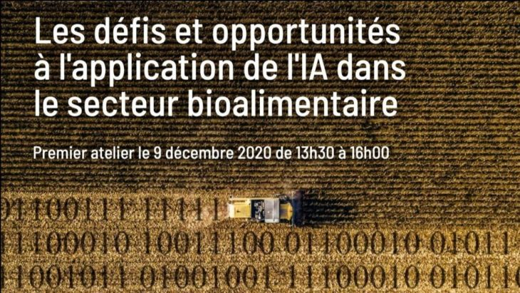 L'intelligence artificielle dans le secteur bioalimentaire