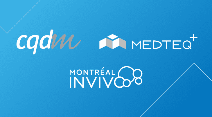 CQDM, MEDTEQ+ and Montréal Invivo partner with IVADO to promote digital health innovation
