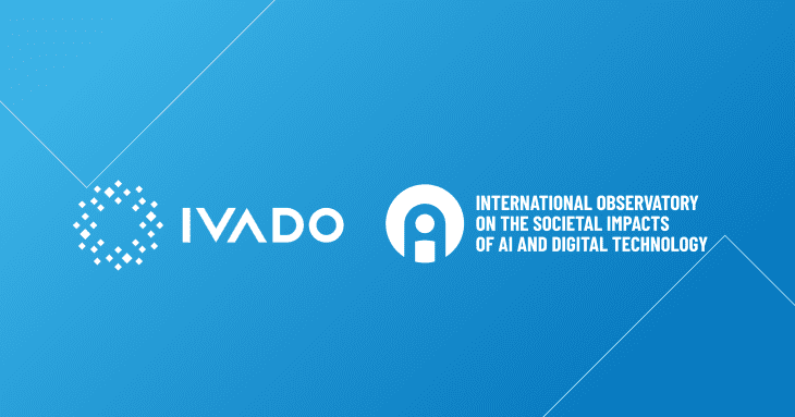 OBVIA AND IVADO formalize their academic partnership to generate knowledge on the societal impacts of AI and digital technology